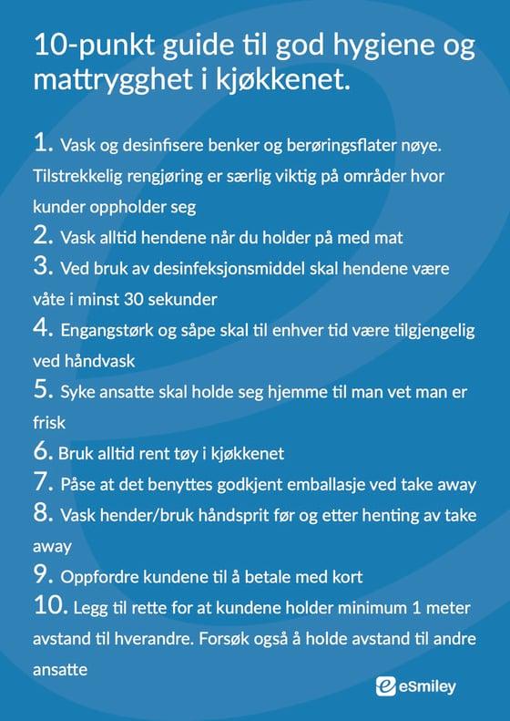 10- punkt guide